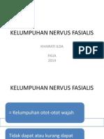 KELUMPUHAN NERVUS FASIALIS ra2.ppt