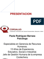 Presentacion Material Psicologia v Semestre . I PARCIAL.