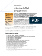 math 150 essential questions