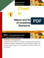 portfolio and investment