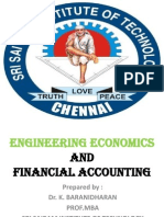 Shift in Demand and Supply Curves - - B.E (CS/IT) - EE&FA/C - DR.K.BARANIDHARAN, SRI SAIRAM INSTITUTE OF TECHNOLOGY, CHENNAI
