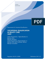 140409 Vocational Qualification in Beauty Care 20009