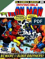 A Saga de Thanos - 01 - Homem de Ferro v1 - 55 - Cuidado Com Os Irmãos Sangue