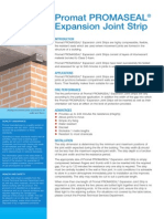 Expansion Joint Strip