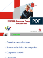 WCDMA Resource Congestion Introduction N703483 Apr-2013