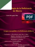 Fisiopatologia Deficiencia de Hierro Copia