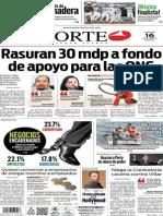 Periódico Norte edición del día 16 de agosto de 2014