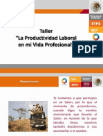 312 Taller La Productividad Laboral