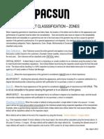 Defect Classification Zones – Garment Inspection