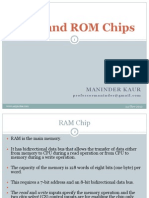 Ram and Rom Chips