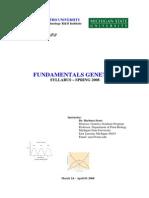 Genetics Syllabus