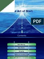 Summary of Art of Start