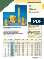 Enerpac EBJ Series Catalog