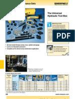 Enerpac Maintenance Set Catalog
