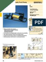 Enerpac P392FP Catalog