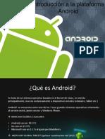 Introducción a La Plataforma Android2