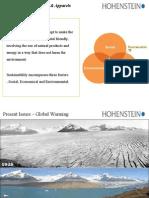 ZDHC- Sustainability Presentation