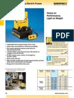 Enerpac PU Series Catalog