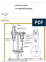 Plans of the Model Stirling Engine