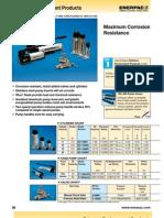 Enerpac RC P V Series Catalog