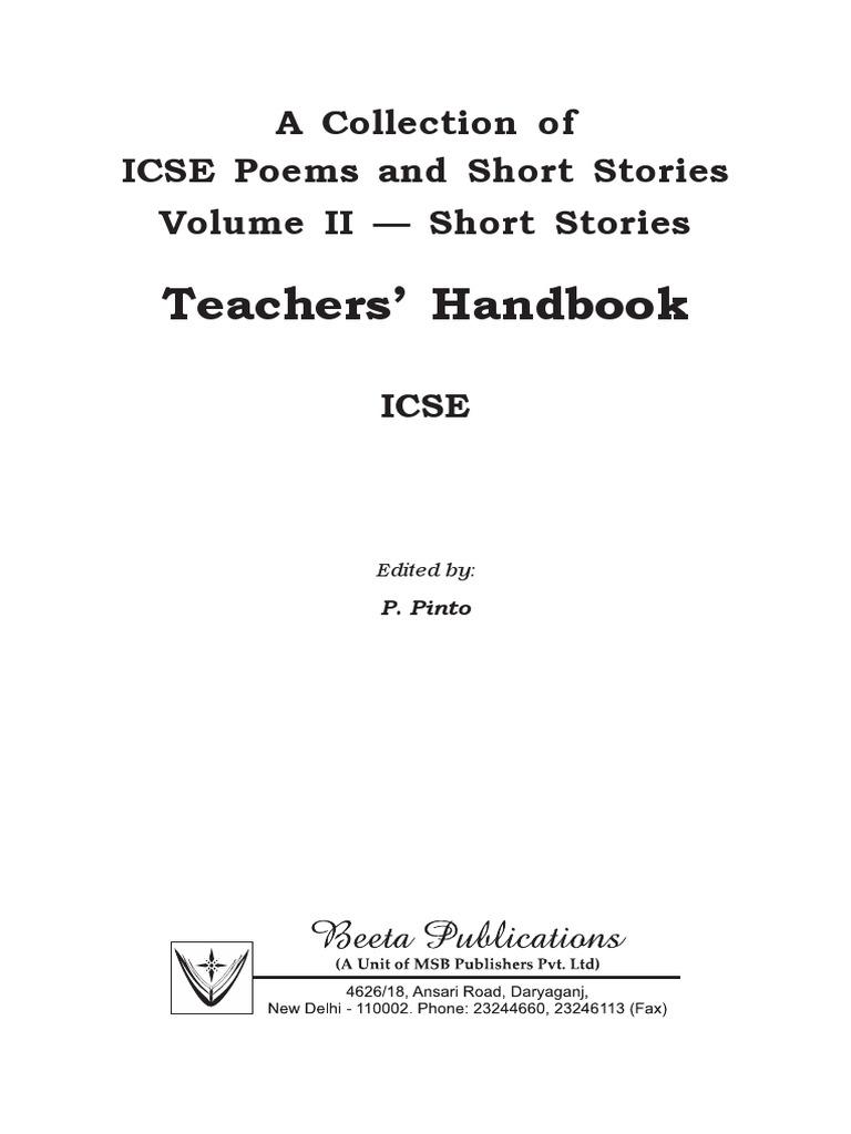 Teachers Handbook Short Stories   Mohammad Reza Pahlavi