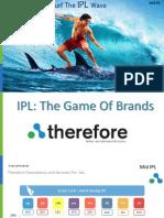 IPL 7 Game of Brands- Pre IPL to Mid IPL