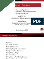 Asa 2011 Geometry