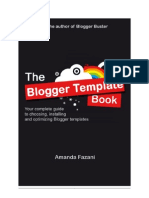 The Blogger Template Book
