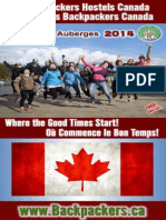 2014 Backpackers Hostels Canada Booklet
