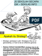 Pelan Strategik Sekolah - Sekilas Pandang