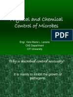 Physical and Chemical Control of Microbes