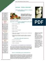Endometriose - Dieta e Nutrição Para Reduzir Os Sintomas