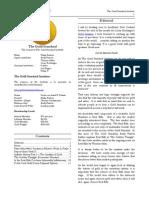 The Gold Standard Journal 11