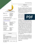 The Gold Standard Journal 17