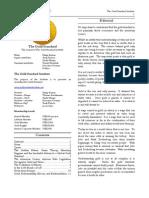 The Gold Standard Journal 27
