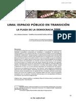 Espacios Publicos Lima