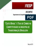 FIESP Custo Brasil 2013