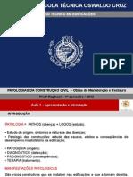 Patologias -Engenharia Diagnóstica-PARTES 01 a 03- e Concreto Armado-PARTE 04
