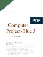 Computer ProjectBlue J