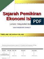 03 Pemikiran Ekonomi Islam II