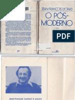 LYOTARD, Jean-François. O Pós-Moderno