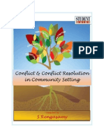 26938200 Conflict and Conflict Resolutionn in Community Settings Part I and II (2)