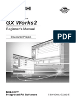 GX Works 2 Beginners Manual Structured Project