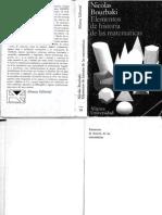 Bourbaki Nicolas - Elementos De Historia De Las Matematicas (Scan).pdf
