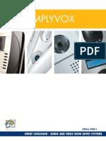 Catalog Amplyvox