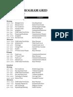 DYAB Cebu Program Schedule
