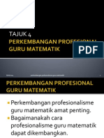 Sofiaperkembangan Profesional Guru Matematik