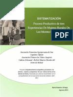 Sistemat Experiencias Productivas de Mujeres Montes de María_Agosto2013