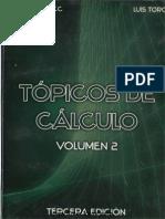 Tópicos de Cálculo Vol. II - Mitacc