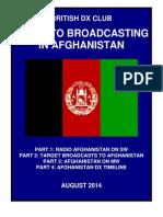 Afghanistan on Shortwave